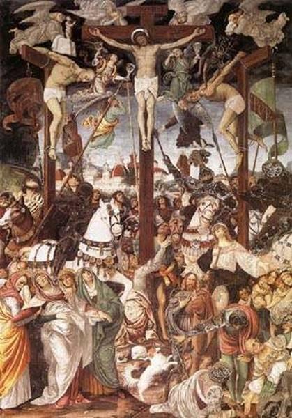 Crucifixion 1513 xx s maria delle grazie varallo sesia